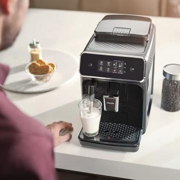 Philips飞利浦 2200系列 全自动咖啡机 EP2220/10 黑色/拉丝黑
