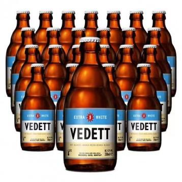 比利时精酿啤酒:原装进口 VEDETT白熊啤酒 330ml*24瓶