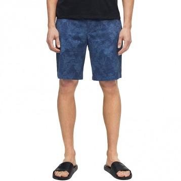 好价!Calvin Klein 男士休闲斜纹印花短裤