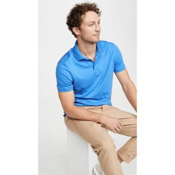 CK轻量级防晒T恤:Calvin Klein Liquid Touch 男士全棉短袖Polo衫