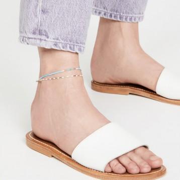 雙鏈腳踝鏈【設計師品牌】Roxanne Assoulin 踝鏈套裝