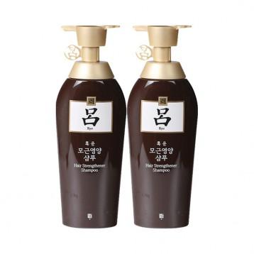 防脫固發:韓國進口 RYO 黃呂 洗發水500ml*2瓶