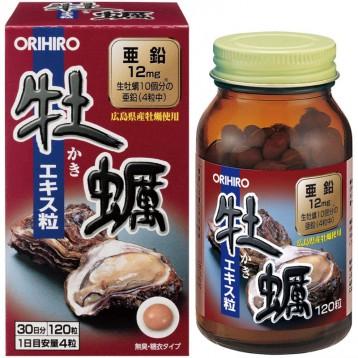 海淘:Orihiro歐力喜樂 日本牡蠣生蠔補腎養精膠囊120粒