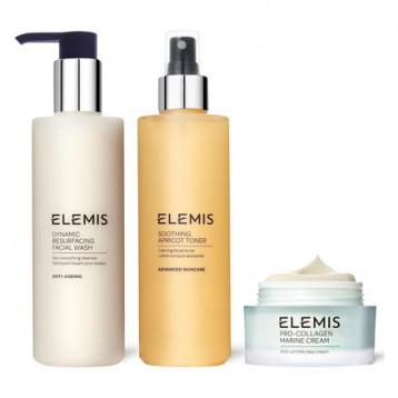 英淘【明星套装】ELEMIS 艾丽美 清洁舒缓护肤三件套装