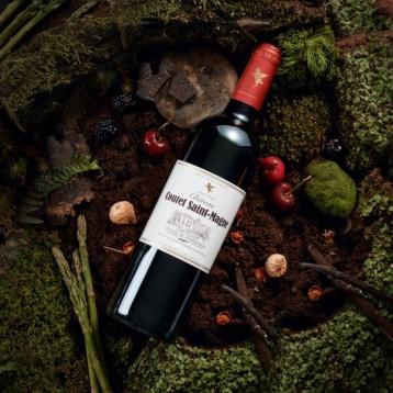阿基坦金奖:翡马 法国圣曼尼酒庄 波尔多AOC级干红葡萄酒750ml