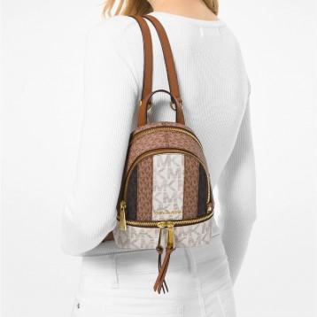 海淘 Michael Kors Rhea Zip Extra Small Messenger Backpack