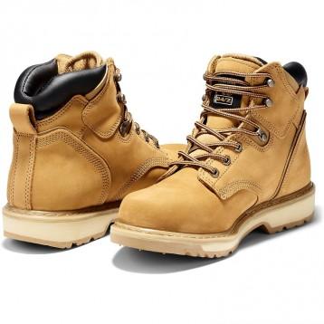限时539.57元起:Timberland PRO 添柏岚 Pitboss男士6英寸 工装靴 33030热销经典款