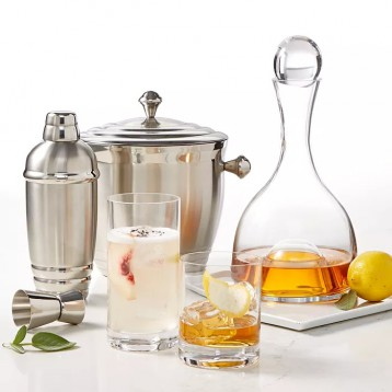 海淘购物清单:Lenox 莱诺克斯 Tuscany Barware Collection 多款酒具限时好价