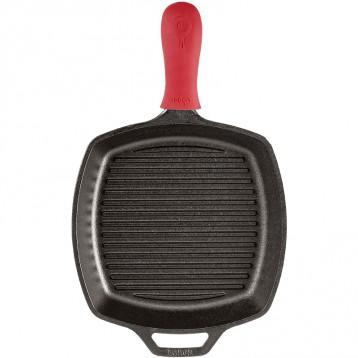Pirme专享¥204.37元:Lodge 洛奇 方形铸铁烤盘 牛排煎锅10.5 英寸(约26.67厘米)