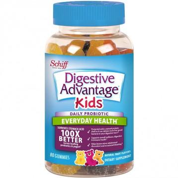 限时¥79.35元:Schiff 旭福 Digestive Advantage 儿童益生菌软糖80粒(3岁以上)