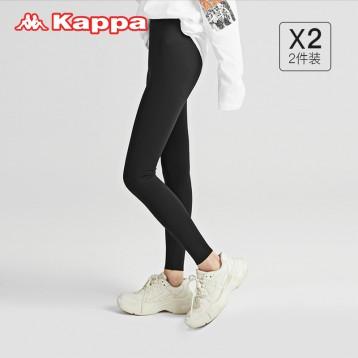 瑜伽打底裤【 2条组】Kappa 卡帕鲨鱼裤 运动休闲皆可