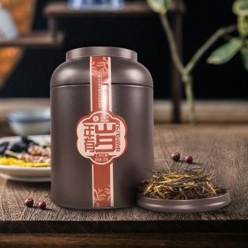 古树红茶:昌宁红 2019年特级滇红茶 年有岁120g罐装
