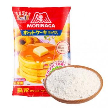 松饼华夫甜甜圈轻松做:日本进口 森永 Morinaga松饼粉600g(150g*4包)