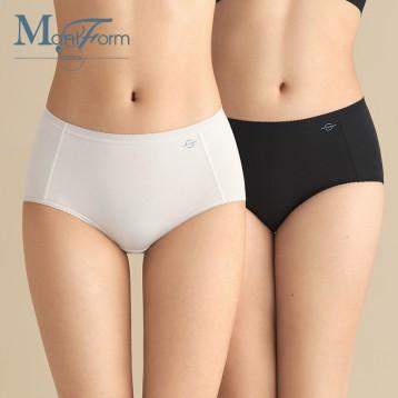 中腰高腰两款【3条49元】曼妮芬 棉质生活舒适透气三角裤 抗菌裆