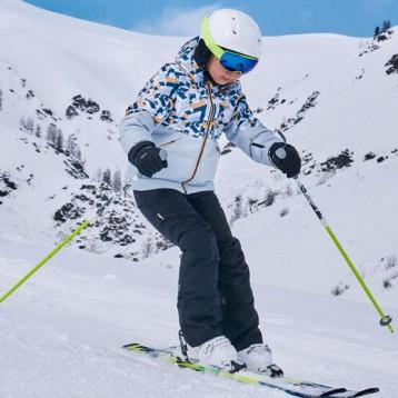 一件雪服两面穿:迪卡侬 儿童青少年滑雪御寒装备热销中……