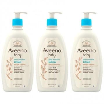 Aveeno 艾惟诺【限时¥183.10】婴儿每日保湿乳液531ml X 3瓶组