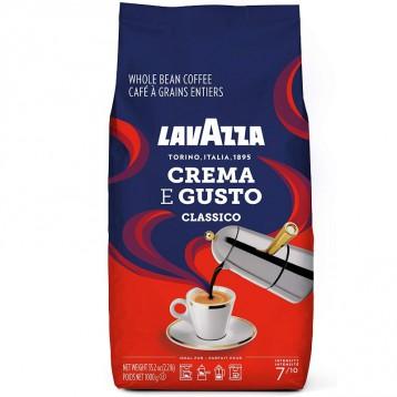 Lavazza 拉瓦萨 【限时¥87.27】Crema E Gusto 意式深度烘焙咖啡豆 1000g