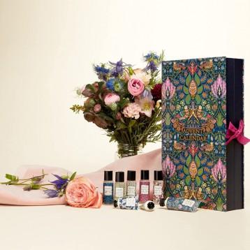 2021圣诞盲盒【限时¥244.83】William Morris At Home Dove & Rose 圣诞日历美妆礼盒