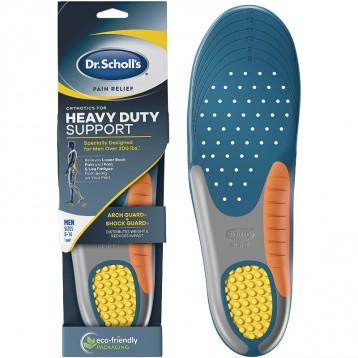 专为90公斤以上男士设计【限时¥100.63】Dr.Scholl's 强力支撑缓解不适鞋垫 (US8-14码)