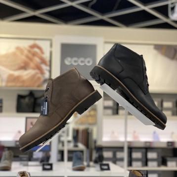 ECCO 爱步【限时¥602.06元】詹姆斯敦系列 防水丘卡靴
